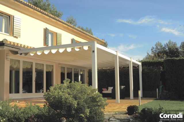 Retractable pergola Pergotenda® Twin 4/7