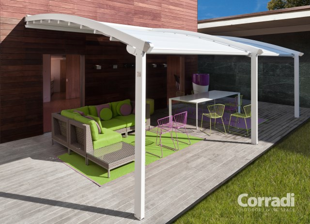 Retractable pergola Pergotenda® Flux