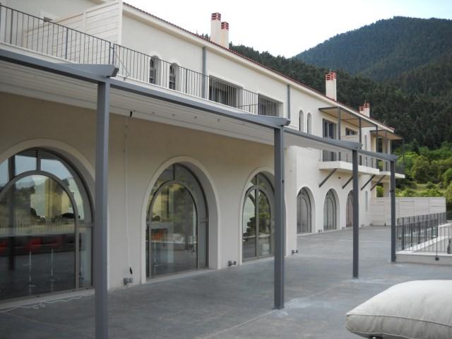 Retractable pergola Pergotenda® Palladia